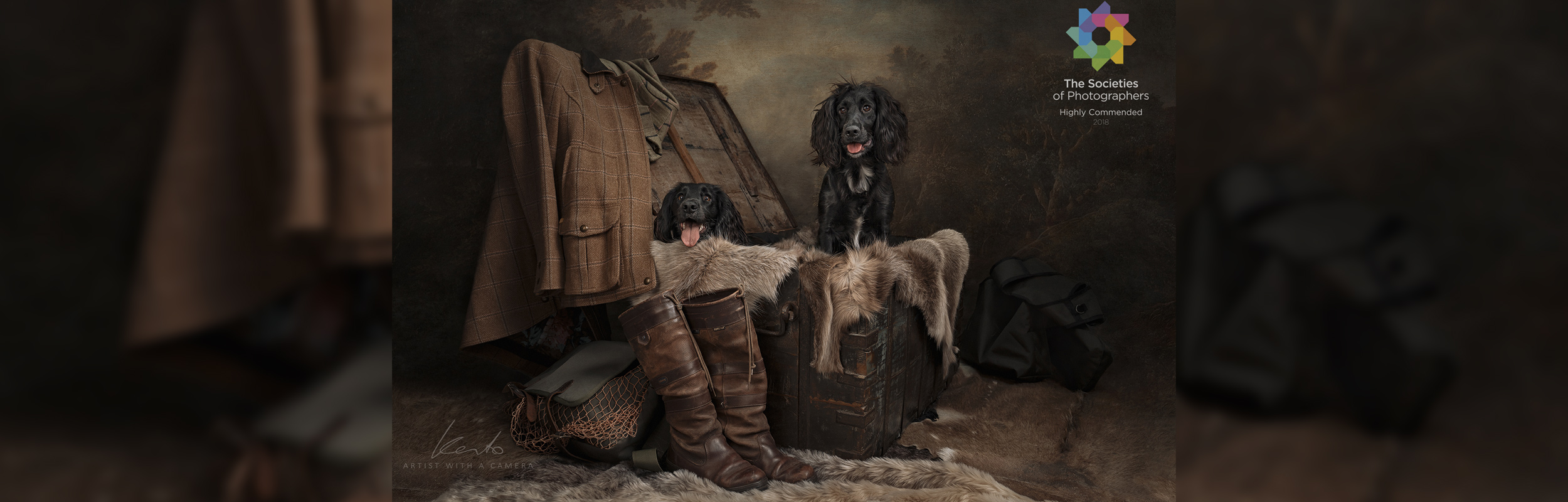 Kerto Studio pet portraits in Winnersh