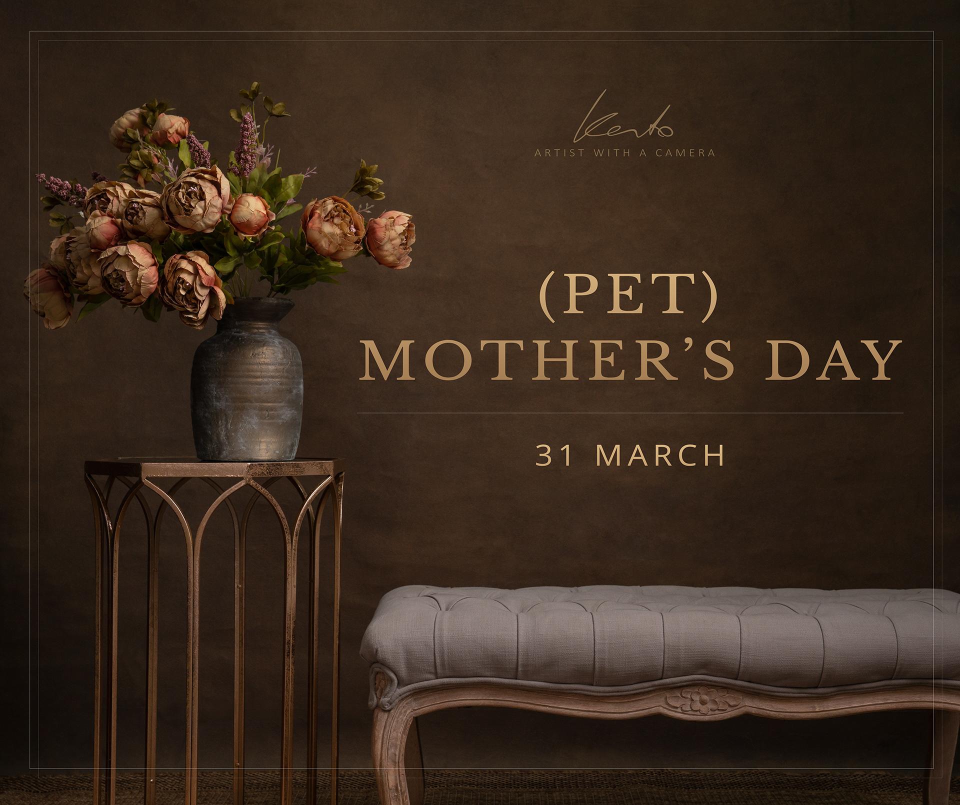 Kerto Studio Mothers Day pet photography