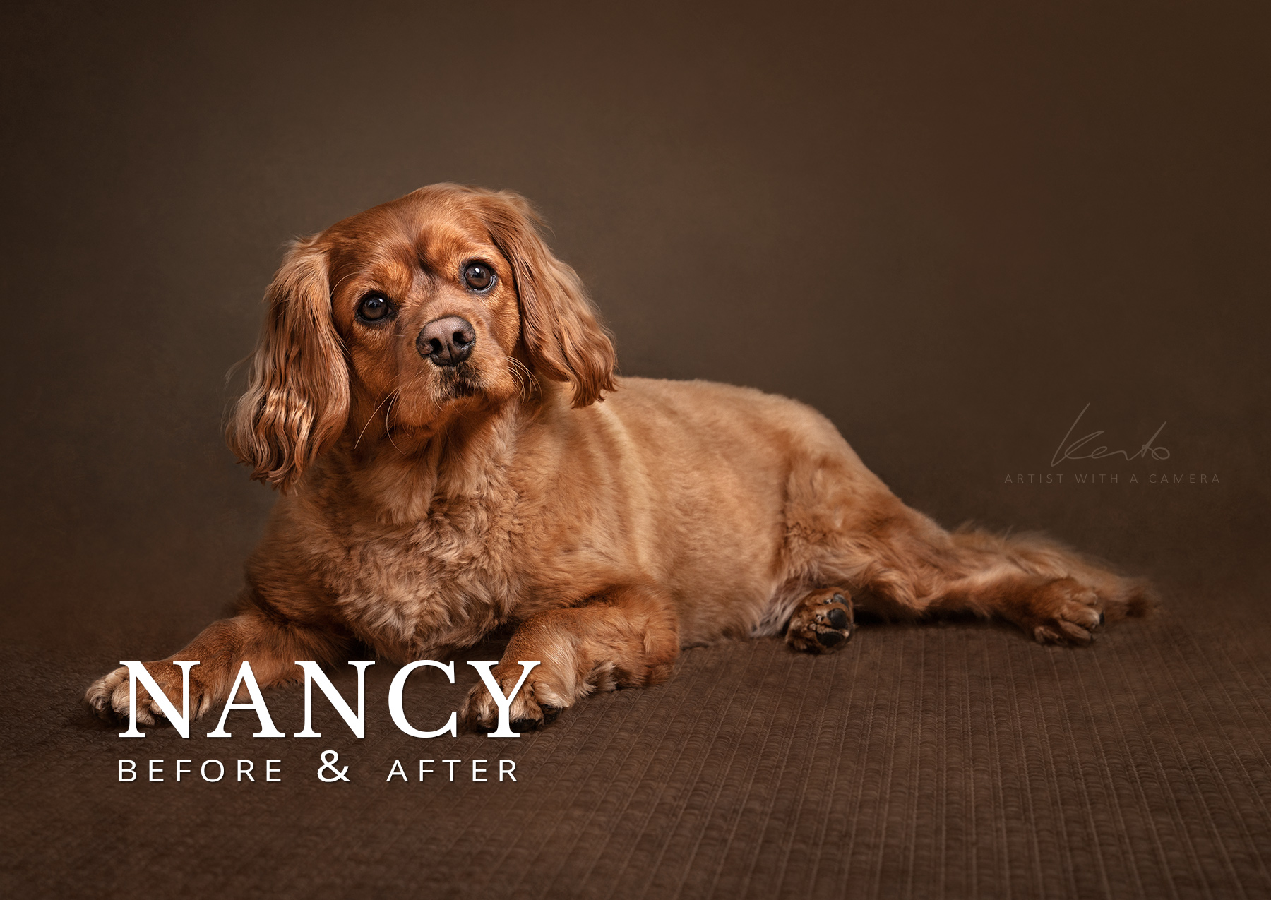 Nancy before and after