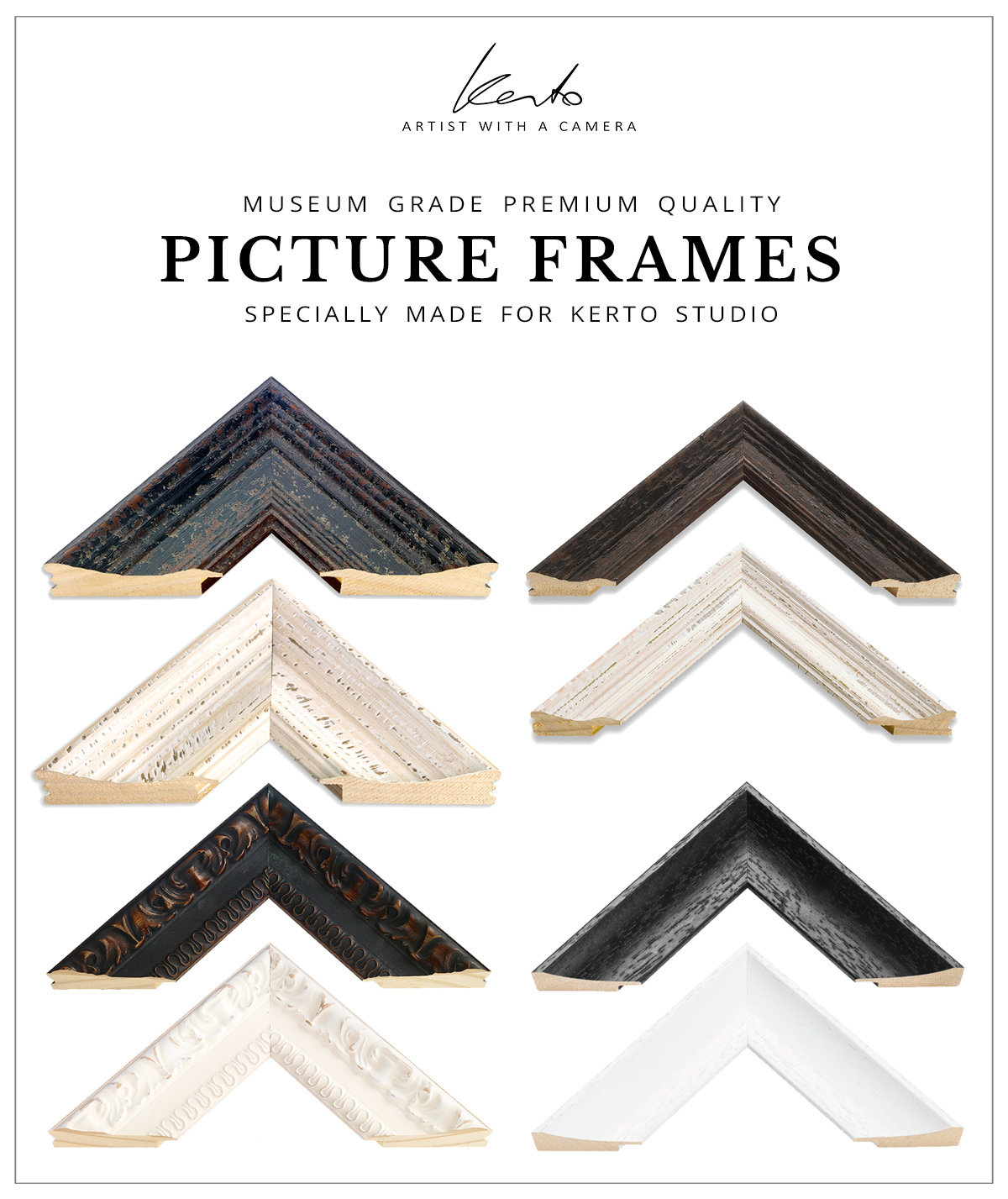 Kerto Studio picture frames